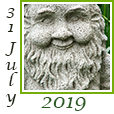 Garden Journal 31 July 2019